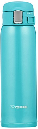 Zojirushi SM-SC48AV Stainless Steel Vacuum Insulated Mug, 16-Ounce, Turquoise Blue