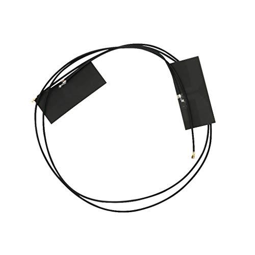 AERVEAL Module Antenna,M.2 Antenna Pci-E Wireless Bluetooth WiFi Mhf4 Laptop/Embedded Dual Band Antenna