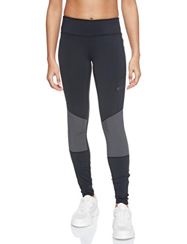 Columbia Damen Titan Peak Trekking Legging, Black, Shark, XL/R