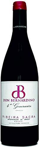 Vino Tinto Mencía Barrica Don Bernardino D.O. Ribeira Sacra 75 cl (Estuche 2 botellas)