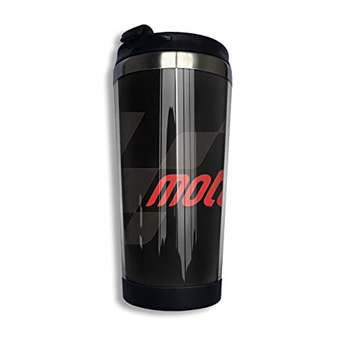 Moto Gp Taza de café de acero inoxidable taza taza de viaje botella de agua para mantener caliente o frío 400 ml/13 oz