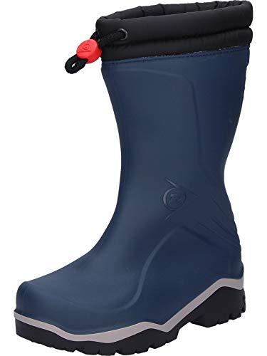 Dunlop Protective Footwear (DUO18) Dunlop Kids Blizzard, Botas de Agua Unisex Niños, Blue, 30 EU