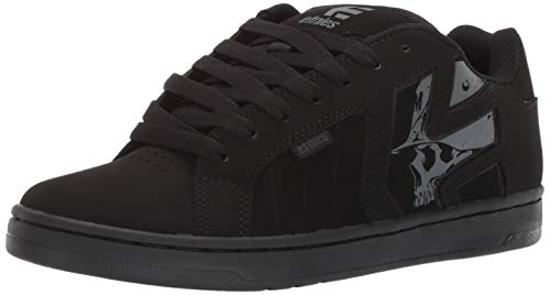 Etnies Metal Mulisha Fader 2, Chaussures de Skateboard Homme, Noir (Black/Black/Black 004), 43 EU