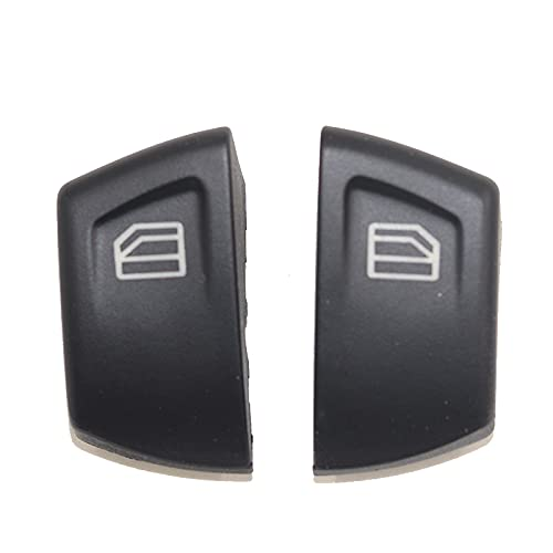 ZhiDuoXing 1 par de Tapas de la Cubierta de la Consola del Interruptor del botón de la Ventana eléctrica/Apto para -Mercedes Sprinter Vito Viano MK2 W906 /