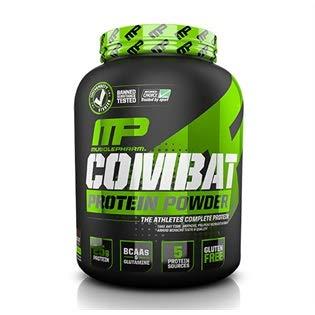 Combat 100% Casein Protein Powder, Choco Peanut Butter