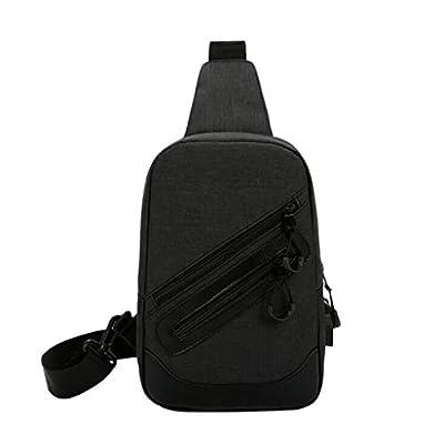 DDKK bags Sling Bag Crossbody Shoulder Bag Sling Backpack Chest Pack for Men Women Water Resistant Nylon Hiking Daypacks