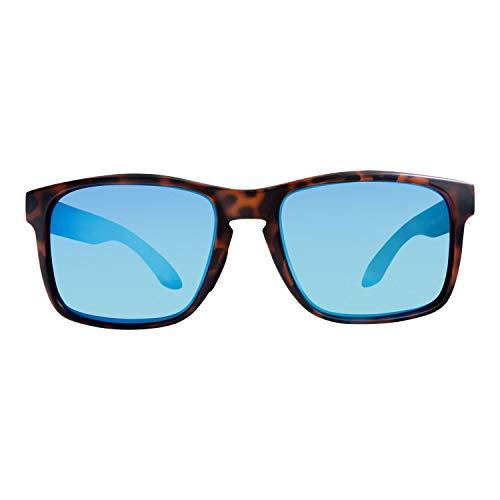 Rheos Coopers Floating Polarized Sunglasses | UV Protection | Floatable Shades | Anti-Glare | Unisex (Tortoise | Marine)