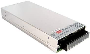 Mean Well SP-480 Switching Power Supply, Pfc Function, 480W, 24Vdc, 6.5A