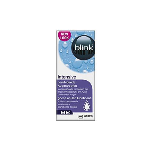 AMO blink intensive tears – Pflegende & feuchtigkeitsspendende Augentropfen – Für Kontaktlinsenträger – 1 x 10 ml