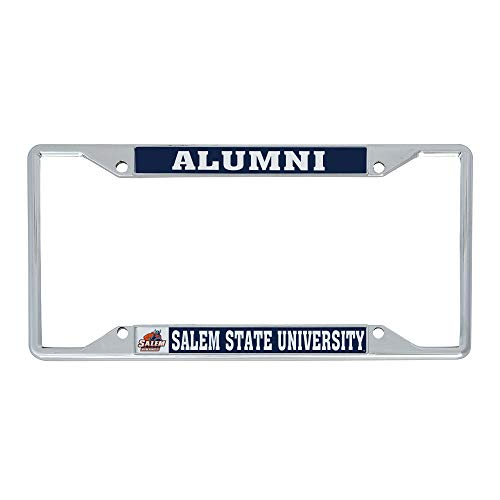 Desert Cactus Salem State University Vikings NCAA Metal License Plate Frame for Front or Back of Car Officially Licensed (Alumni)