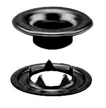 Stimpson 3GTWBDBC3600 Sheet Metal Grommet and Teeth Washer Dull Black Chem Durable, Reliable, Heavy-Duty #3 Set (3,600 Pieces of Each)