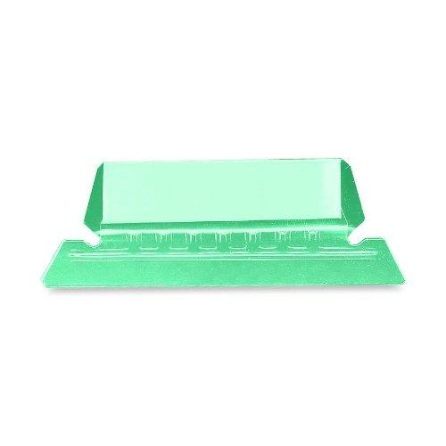 Smead Hanging Folder, 1/5-Cut Poly Tab, Green, 25 Per Pack (64604)