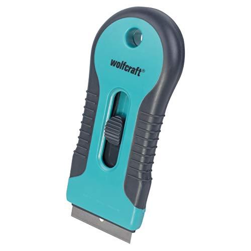 WOLFCRAFT 4101000 (L) rascador de plástico 2k, con zona blanda para un agarre cómodo PACK 1