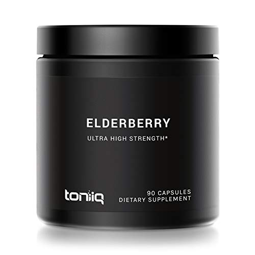 Ultra High Strength Elderberry Capsules by Toniiq review