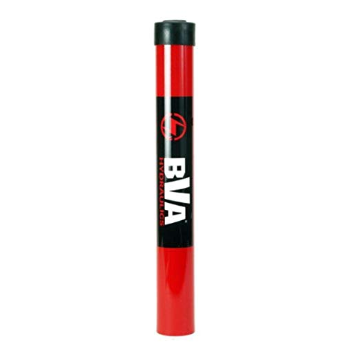 """BVA HYDRAULICS H1014 10 Ton Single Acting 14"""" Stroke Cylinder, Red"""