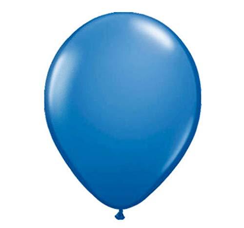 Folat B.V.- Dark Blue Balloons Pieces. Globos azul oscuro 30 cm - 50 unidades, Color, 50er pack (19100)