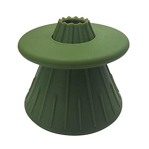 GAGH Vaso de café reutilizable con filtro de silicona hecho a mano, juego de goteo de café suave y reversible, fácil de limpiar