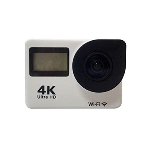 MIKLL 4K Action Cam 14MP WiFi Telecomando Fotocamera Subacquea Impermeabile 30M Sott Acqua Sports Camera Schermo 2 Pollici 170 Gradi Grandangolare Microfono Esterno 2x1050mAh batterie e Accessori
