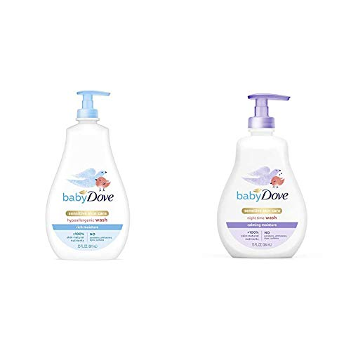 Baby Dove Tip to Toe Body Wash and Shampoo and Calming Nights Body Wash and Shampoo