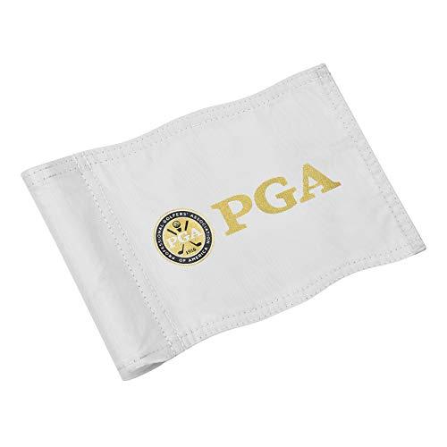 KINGTOP PGA Golf Flagge, doppelt genähte Golfflaggen, USGA-Regulierungsrohr-Flagge, Praxis Putting grüne Flagge für Hof, 420D Nylon Mini Pin Flaggen, 20,3 cm L x 15,2 cm H, 3er-Pack