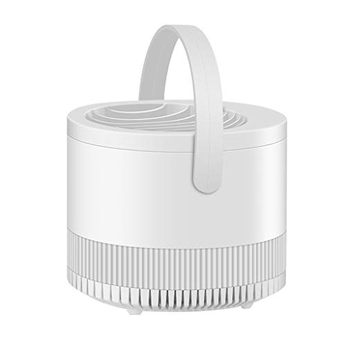 USB Mosquito Light Killer Lam Household Suction Type Mute Anti-Fly Indoor Mosquito Repellent-2020 New Electronic Trap Night Light Control Repellent, Eliminates Most Flying for Home Use Indoor (White)