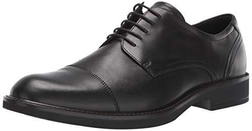 ECCO Men's Biarritz Cap Toe Shoe, Black, 40 M EU (6-6.5 US)