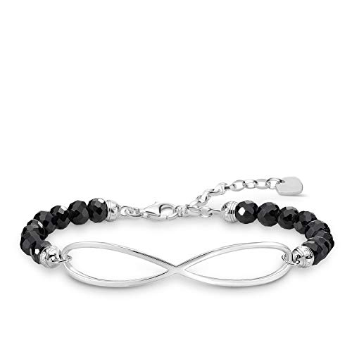 Thomas Sabo Damen-Armband Infinity Love Bridge 925 Sterling Silber LBA0126-840-11-L19v
