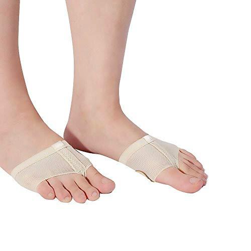 pedimendtm 2Paar Ball von Fuß Kissen Pads   Fuß Tanga für Ballett Dance   Metatarsal Support   Fuß Unterhosen