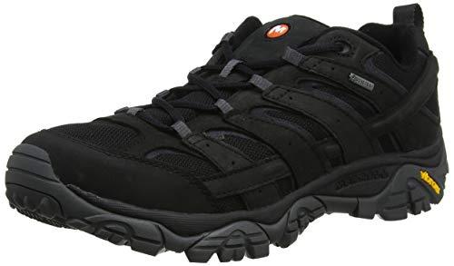 Merrell Moab 2 Smooth GTX, Chaussures de Randonnée Basses Homme, Noir (Black), 41 EU