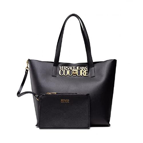 Versace Bolso Jeans Couture shopper logo 71VA4BL8 71879 899 negro