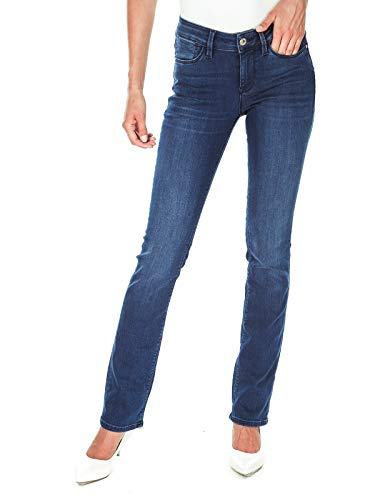 Guess Cigarette MID-W63039D2810 Pantalones, Azul (SMBE Slim Care Blue), 25 para Mujer