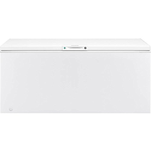 Frigidaire FFFC20M4TW 68 Inch Freezer with 19.8 cu. ft. Capacity, White Door, Manual Defrost, CSA Certified in White
