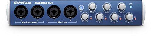 PreSonus Audiobox 44VSL 24-Bit/96 kHz 4x4 USB 2.0 Audio Interface