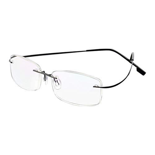 Gafas de lectura sin montura para gafas de lectura de titani
