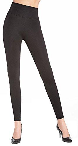 Leggings eleganti, modellanti, snellenti Leggings push-up, da donna Schwarz (Livia) W40