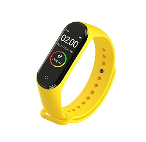 Orologio Telefono Per Ragazzo E Ragazza M4 Braccialetti Fitness Braccialetto Sport Pedometro Smartwatch Per Donna Uomo Bambini Orologi-8 Sportivo Fitness Tracker Ip68
