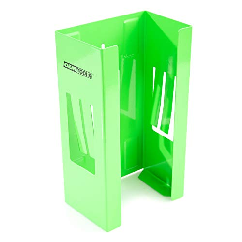 OEMTOOLS 24945 Adjustable Magnetic Glove Holder & Glove Dispenser | Holds All Standard Glove Box Sizes | Easily Mount to Any Ferrous Surface | Features Non-Marring Magnets & Customizable Spring Sides