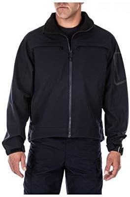 5.11 Tactical Men's Chameleon Soft Shell Jacket, Polyester Fabric, Inner Mesh Lining, Style 48099