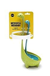 2. OTOTO Nessie Ladle and Mamma Nessie Colander Spoon