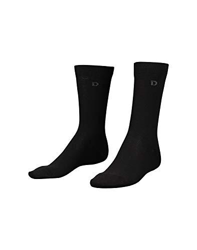 Dilling Herren Socken aus Bio-Baumwolle Schwarz 47-50
