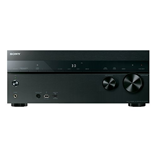 Sony STR-DN1050 7.2 Channel Hi-Res 4K AV Receiver (Built-in Wi-fi & Bluetooth)