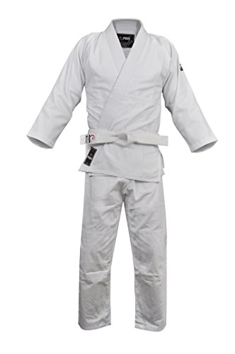 FUJI – Single Weave Judo Uniform – Judo Gi- White , 4