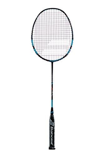 Babolat X-Act 85 Badminton Schläger Allround Racket blau/schwarz besaitet + inklusive Tasche