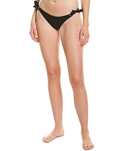 Shan Womens Alicia String Bikini, 10, Black