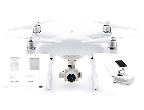DJI Phantom 4 Advanced+ (Plus) Drone Quadcopter 4K Camera Built-in LCD on Remote (Renewed)