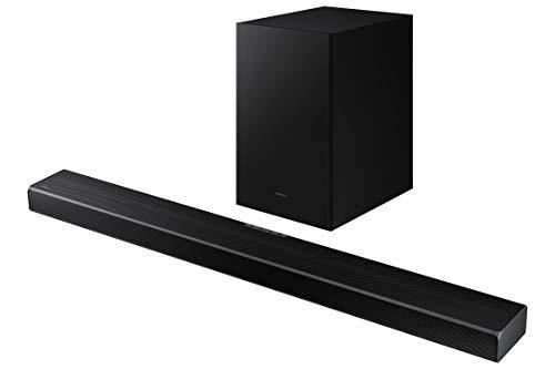 Samsung Barra de Sonido HW-Q600A - Barra de Sonido Dolby Atmos y DTS:X, 3.2.1 Canales, Q-Symphony, Tap Sound, Modo Juego Pro, Conexión Bluetooth Múltiple, Acoustic Beam y Sonido Inteligente
