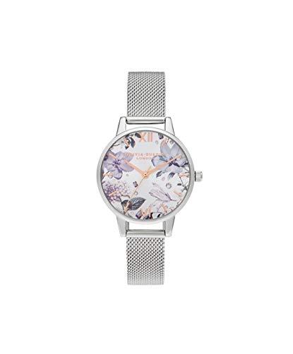 Olivia Burton Damen Analog Quarz Uhr mit Kunststoff Armband OB16BF26