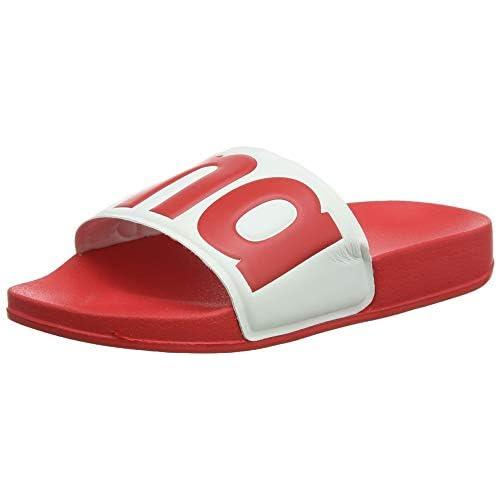 ARENA Urban - Sandali da Bagno per Bambini, Colore: Rosso, Taglia 33
