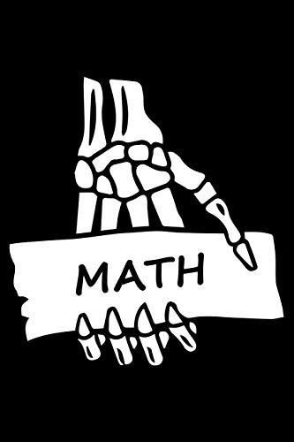 Math Notebook: Black cover Great gift for Teacher , math Lover , nerd ,student ( mathematical mindsets )