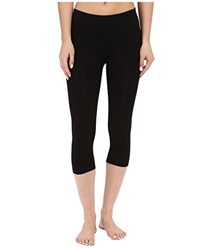 Pact Women's Stretch Cropped Leggings | Made with Organic Cotton, Black, X-Small